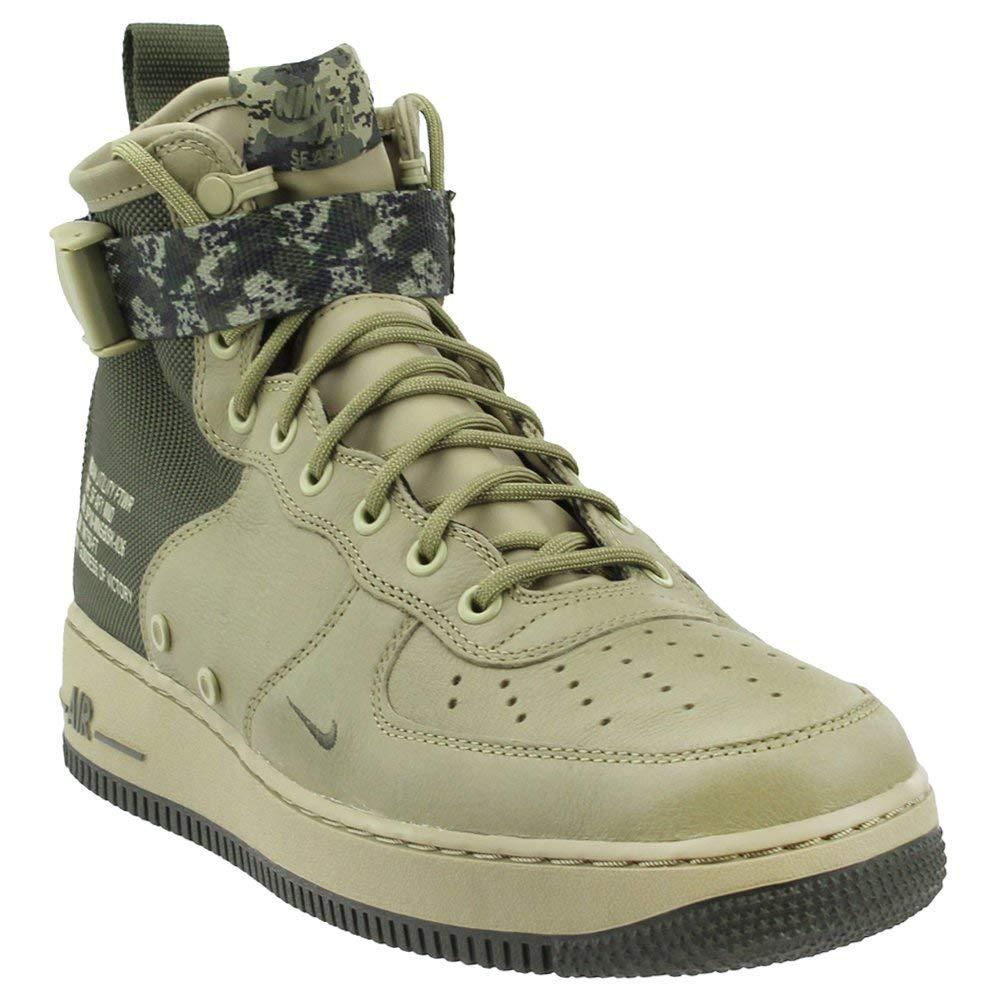 Nike Men's SF AIR Force 1 MID Shoe Neutral OliveCargo Khaki (9 D(M) US)