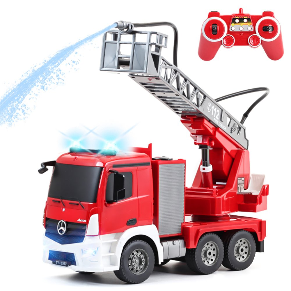 rctecnic–Auto RC Camion Pompieri Mercedes-Benz Antos 1: 20GHz