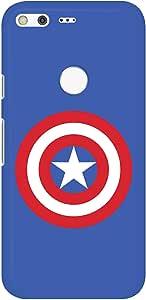 Stylizedd Google Pixel XL Slim Snap Basic Case Cover Matte Finish - The Shield