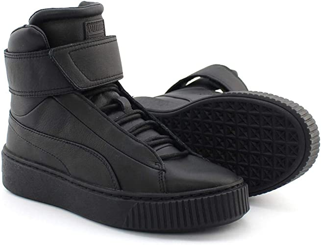 Puma Platform Mid Wn's 364242 05 Sneaker da Donna, Nero
