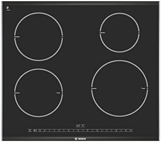 Bosch PIE675N24E hobs Integrado Con - Placa (Integrado, Con ...