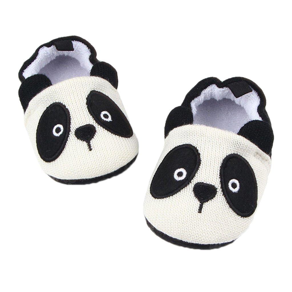 Sharplace Unisex Babé Zapatos Algodón de Punto Deporte para Bebés Accesorios Duraduro Ajustable - Ratón, 13cm