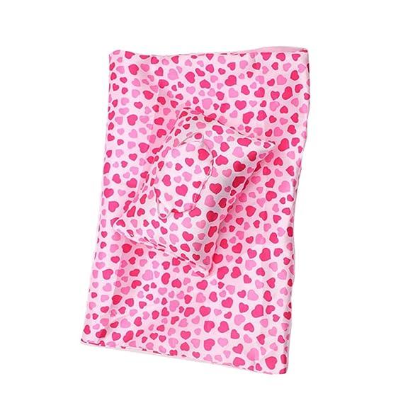 Amazon.es: Sharplace Saco de Dormir con Almohada y Parches de Ojos para Muñeca de 18 Pulgadas: Juguetes y juegos