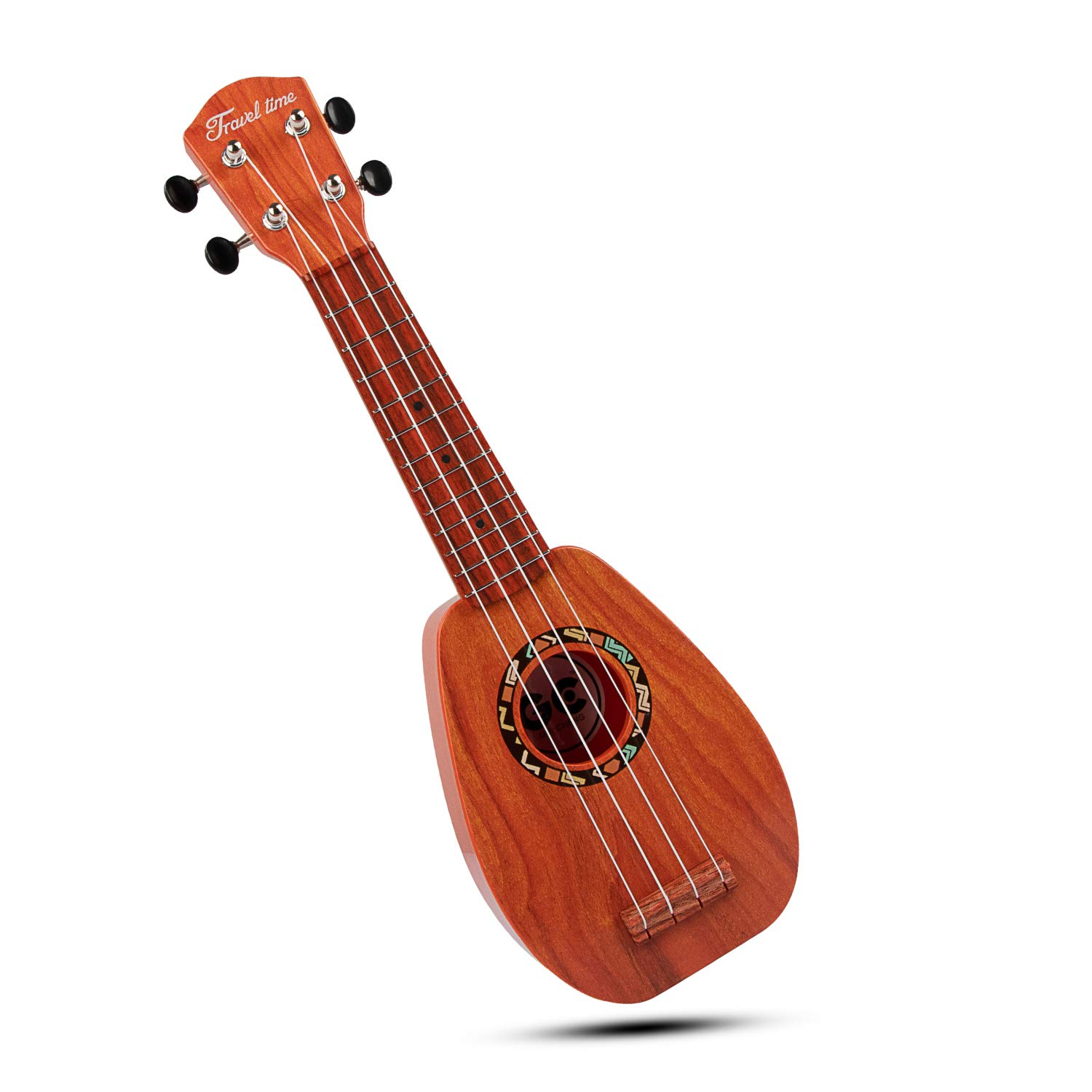 SAOCOOL Kids Guitar, 17 inch Mini Kids Ukulele Guitar Child Guitar Toy, 4 String Toy Guitar The Best Childrens Guitar Gift for Girls and Boys (Sequoia Color)