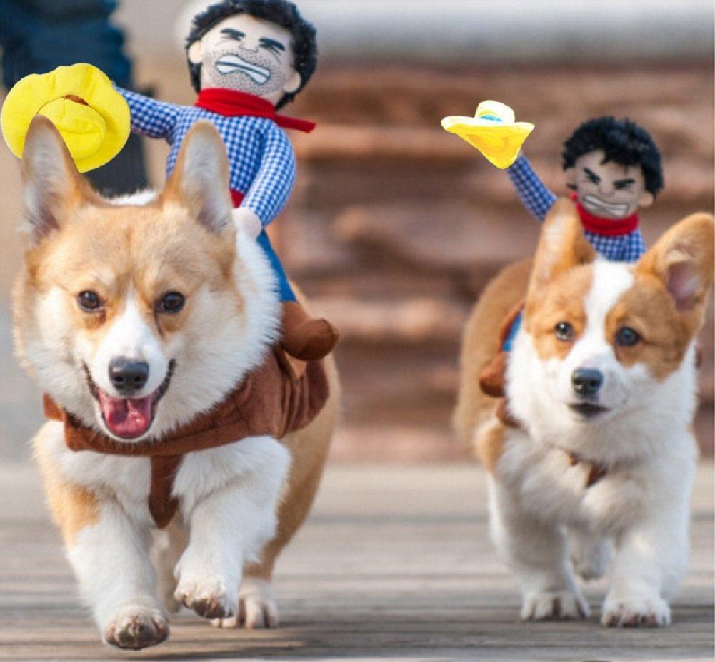 Idefair Funny Guitar Disfraces de mascotas para perros Puppy Cats Fiesta de Navidad Disfraz de Halloween