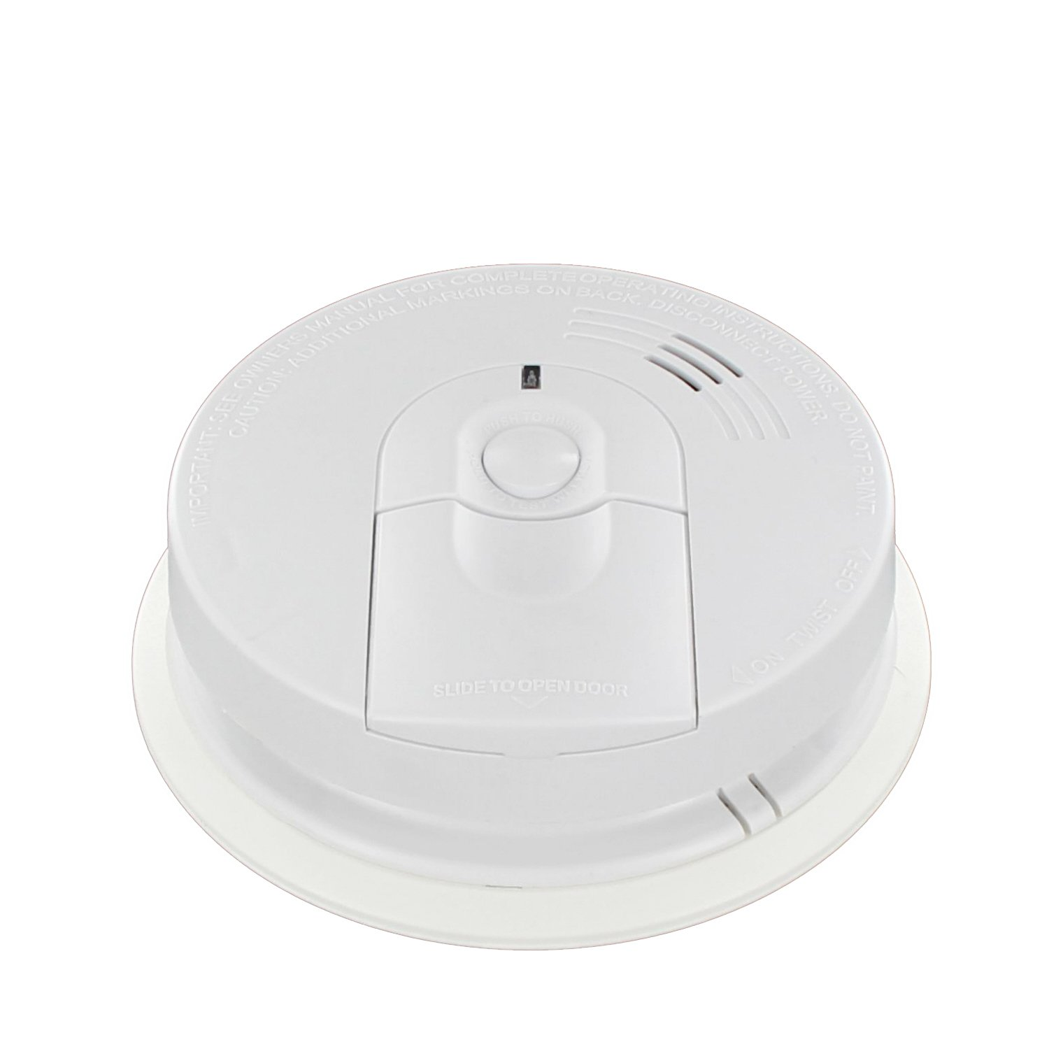 Kidde I4618ac Battery Backup Firex Hardwire Ionization Smoke How To Wiring Detectors Burglar Alarm System Technology Detector Kiddie Ka F Adaptor