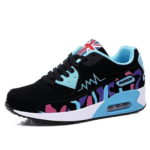 GOMNEAR Zapatillas para Mujer Zapatillas para Correr para Correr Zapatillas para Correr con Amortiguación de Aire Zapatillas Ligeras para Correr Gimnasio: ...