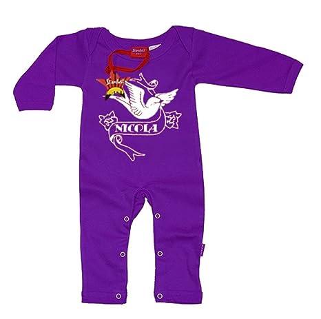 Adhesivo decorativo para niños personalizada playsuits Bebés mano playsuits Impreso con su nombre de Childs Cool