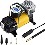 XtremeAuto Universal Heavy Duty Durable Metal 12v Electric Air Compressor Tyre Inflator