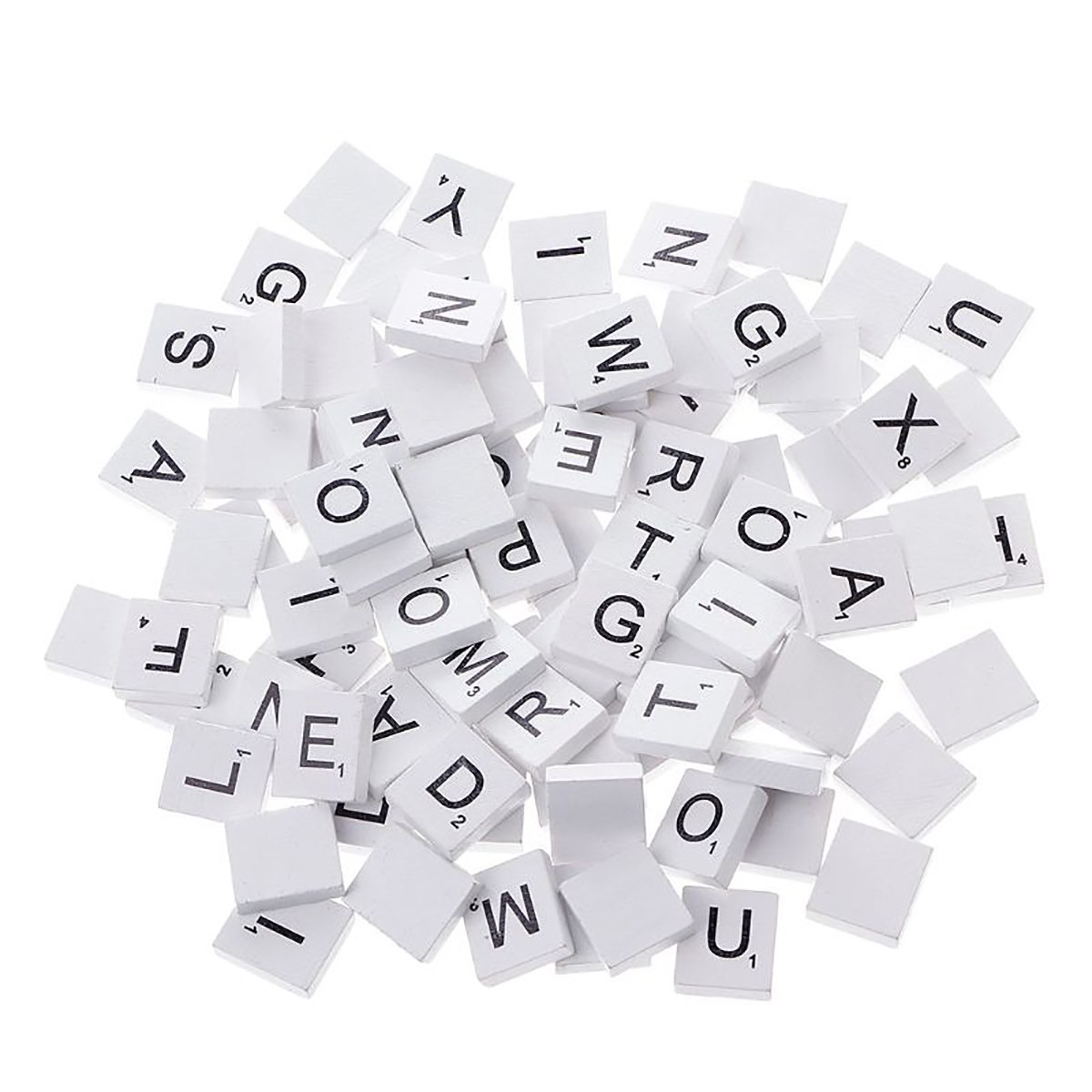 Letters Number or Blank 20mm size tiles in MDF similar to Scrabble © style
