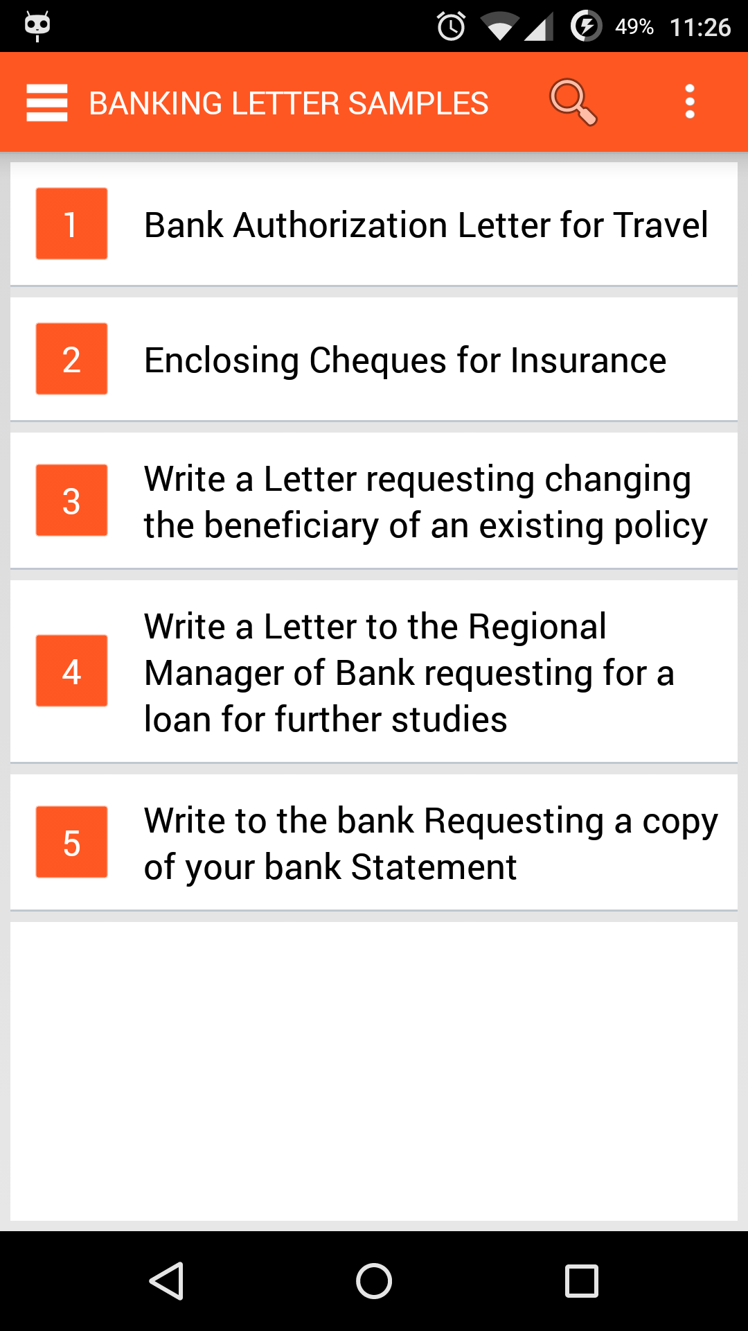 Amazon Com English Letter Writing Appstore For Android