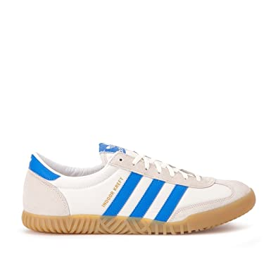 super popular 72512 b2894 adidas Men Indoor Kreft SPZL White Chalk White Bright Blue Size 7.0 US