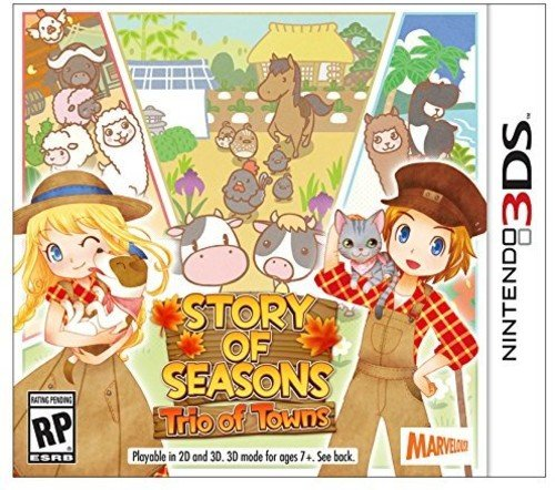 Story of Seasons: Trio of Towns - Nintendo 3DS by Xseed