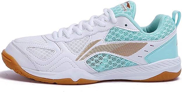LI-NING APTP002 - Zapatillas de Tenis de Mesa para Mujer ...
