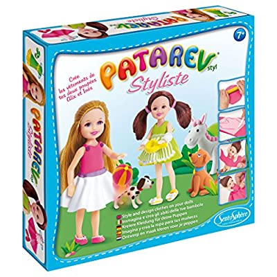 SentoSphere Patarev Styliste Clay Fashion Design Kit - Alix & Ines: Toys & Games