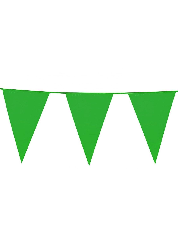 COOLMP - Ghirlea con beierine Verdi, Taglia Unica, Decorazione per Feste, Animazione, Compleanno, Matrimonio, Eventi, Giocattoli, Ptuttioncino (Confezione da 12)