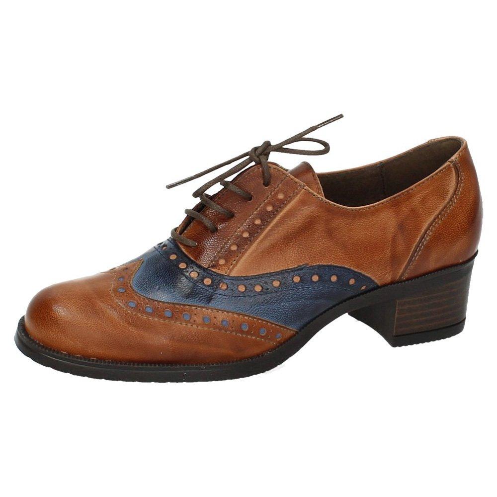Aback I18.73540 Blucher Oxford Piel Mujer Zapatos CORDÓN 41 EU|Cuero