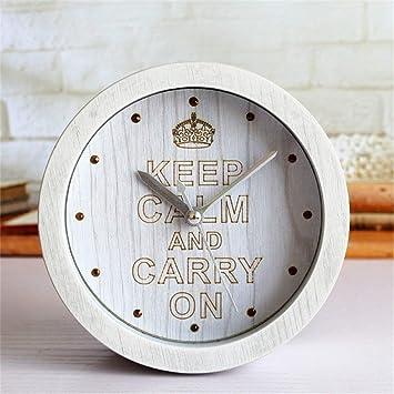 GYNMR Reloj Creativo Creatividad Continental Vintage ...