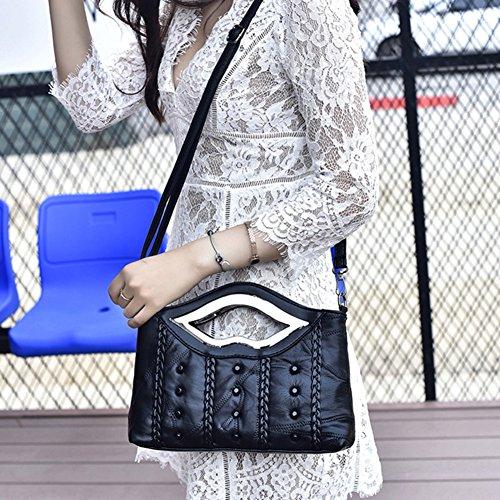 Rivets Shoulder Bags Stitching Handbags A Bag Bags Handbags Women Party qvOXnww4
