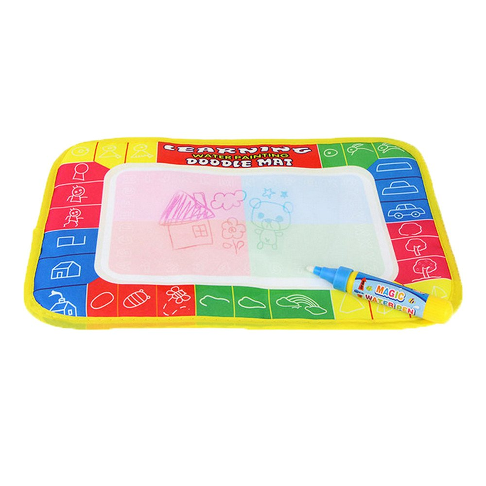 F_Gotal Toys for Boys Girls Clearace - Baby Kids Toddler Educational Toys Water Drawing Painting Writing Mat Board Magic Pen Doodle Toy Learning Toys for Kids Child Adults Gifts
