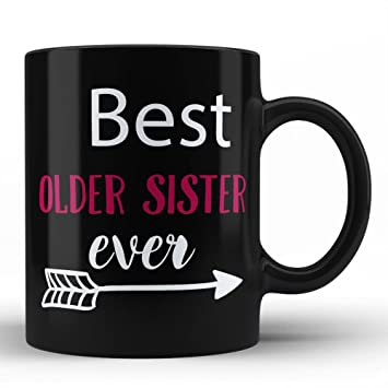 Amazon Best Older Sister Mug