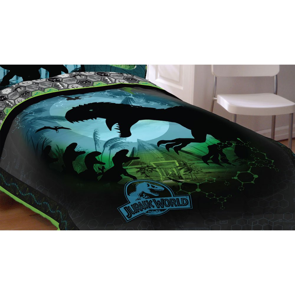Universal Jurassic World Biggest Growl Microfiber Comforter