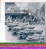 Vintage Photos 1965 Press Photo Transportation Moscow Mobile Launchers Rockets Bolshevik 8x9
