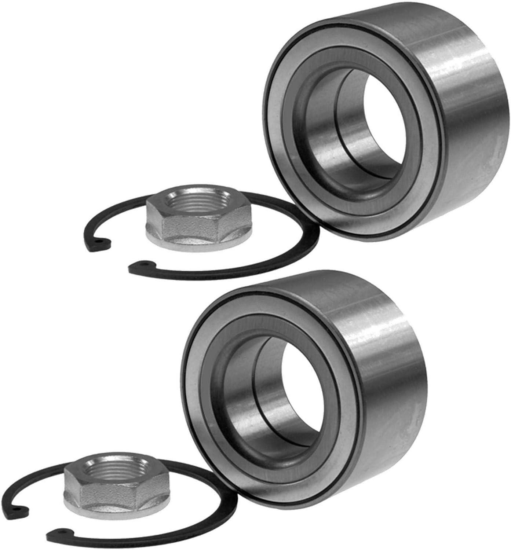 2x Radlager Radlagersatz Mit Integriertem Magnetischen Sensorring Vorne Vorderachse Auto