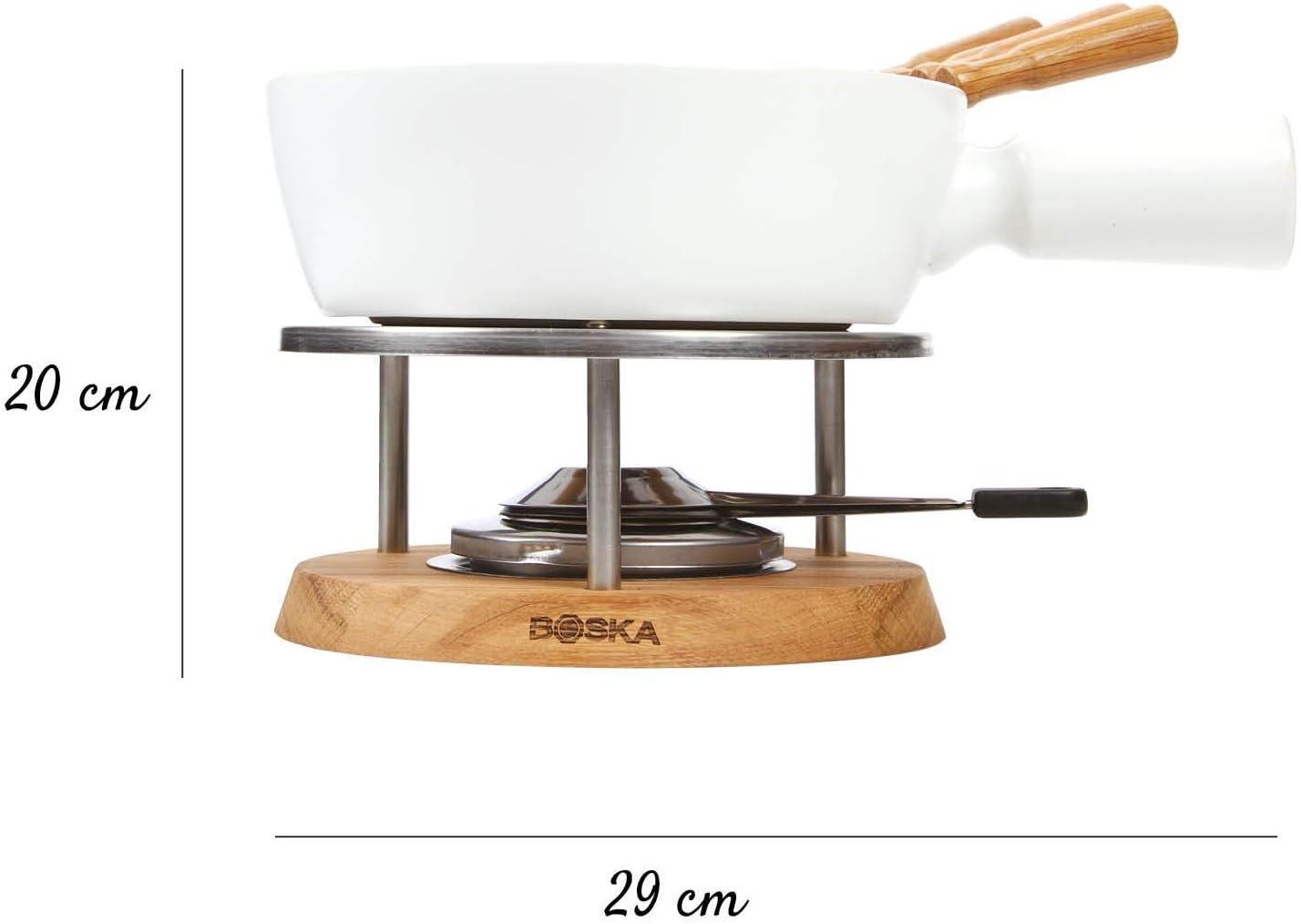 Acier BOSKA 340031 Life Twinkle Set Fondue Fromage Blanc 24 x 24 x 15 cm