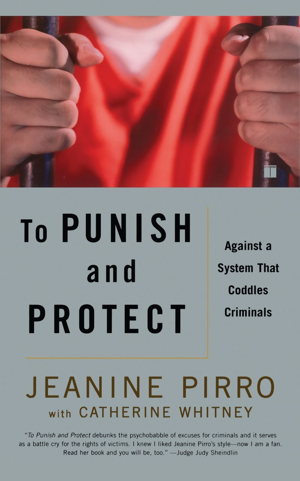 To Punish And Protect: Against A System That Coddles Criminals: Jeanine  Pirro, Catherine Whitney: 9780743265683: Amazon: Books