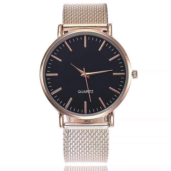 ZXMBIAO Reloj De Pulsera Reloj Ultra Fino De Cuarzo para Mujer, Correa De Plástico, Relojes De Esfera Sencillos: Amazon.es: Relojes