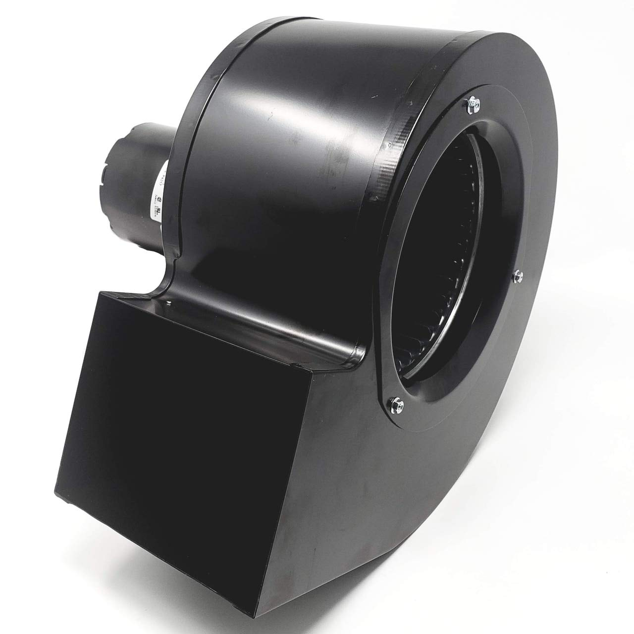 Rectangular Permanent Split Capacitor 3.3 Inch Blower w/Exhaust Mount | 2 Speed 500/325 CFM | 1625 RPM 115VAC 60Hz (Without Exhaust Mount)