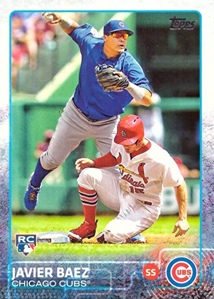 2015 Topps Baseball 315 Javier Baez Rookie Card His 1st Official Rookie Card