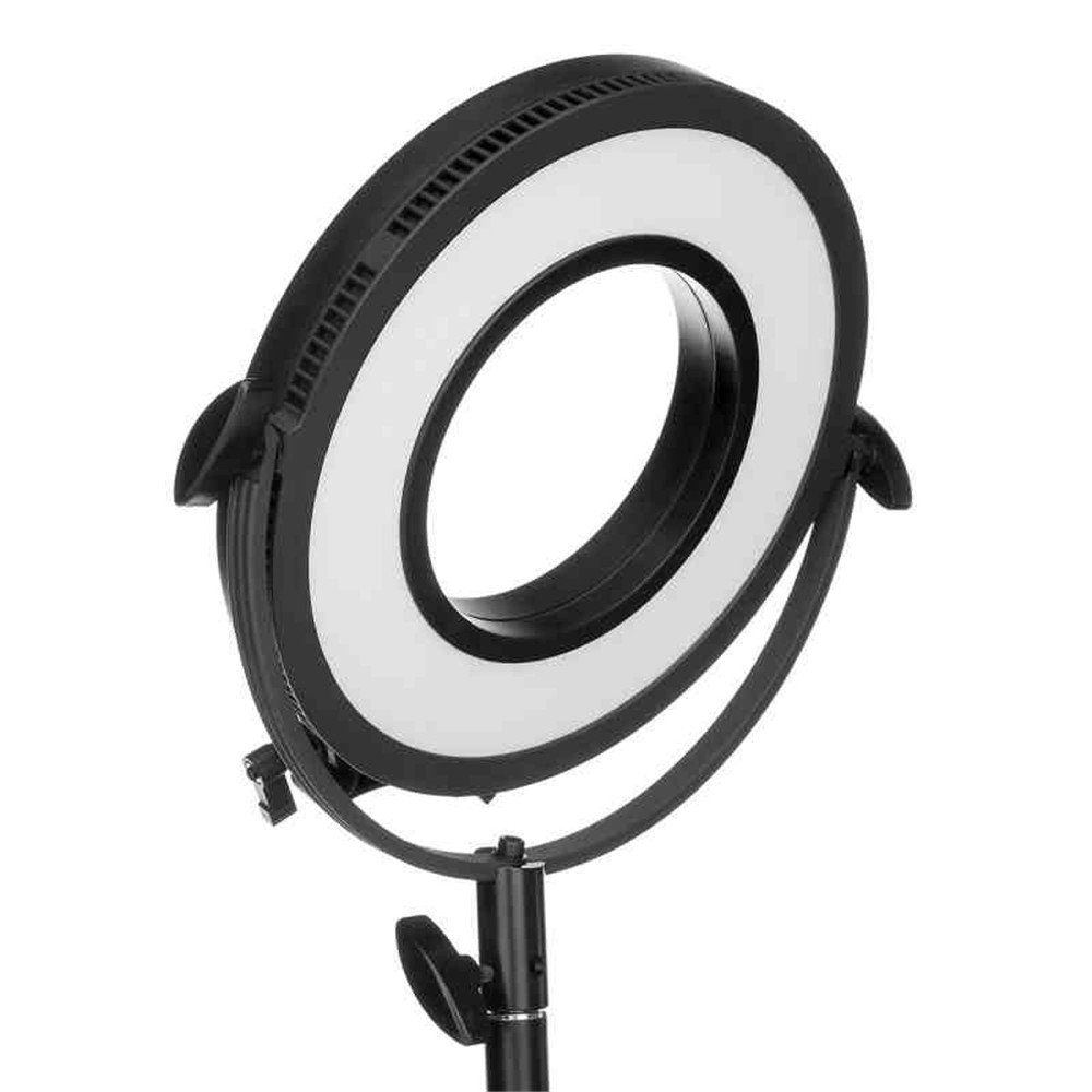 LS C de 318rls LED Ring Light Rod Mounted, Bicolor Beauty Ring Light de 10 Inch Dimmable Photo/Video Ring Light Kit with Case: Amazon.es: Electrónica