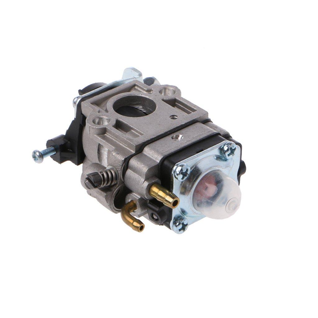 Gapapaen Carburatore 2 Tempi Kit carburatore 15mm MP15 per Bici da Tasca 43cc 47cc 49cc 50cc