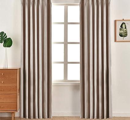 NAPEARL - Set di 2 Tende Moderne con Occhielli per Finestra ...