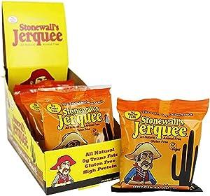 Stonewall Jerquee, Original Mild Vegan / Vegetarian Jerky 1.5 Ounce (8 Pack)