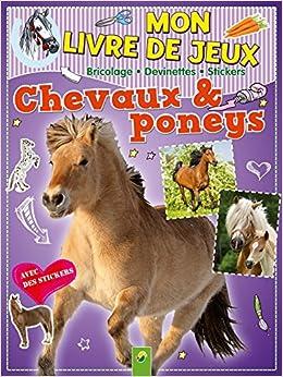 Amazon Fr Chevaux Poneys Mon Livre De Jeux Schwagger