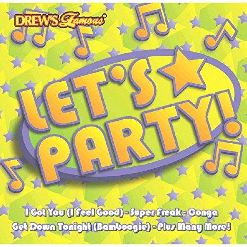 Drew's Famous Let's Party Dance Music CD, Plastic, 4