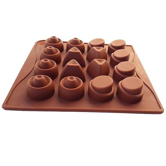 fanhesheng silicona Chocolate Jelly Candy Mold, pastel molde para hornear: Amazon.es: Hogar