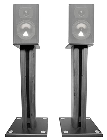 Technical Pro Pair 26quot Bookshelf Speaker Stands For Boston Acoustics CS23 Speakers