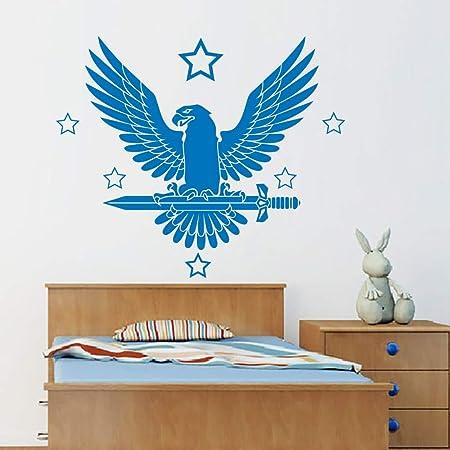 Geiqianjiumai Águila pájaro Pegatinas de Pared Estrellas ...