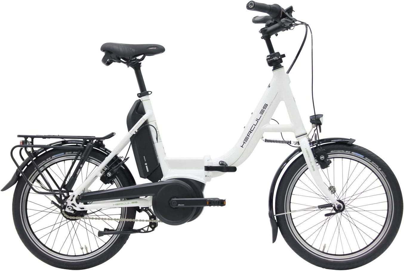 Hercules E-Bike Rob Fold F8 - Bicicleta eléctrica plegable (20 ...
