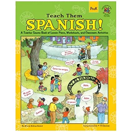 Amazon.com : Carson-Dellosa Publishing Teach Them Spanish ...