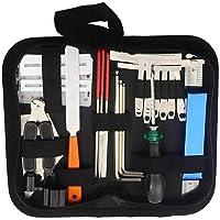 Kit de herramientas de reparación de guitarra, kit de herramientas de limpieza de mantenimiento de guitarra, kit de…
