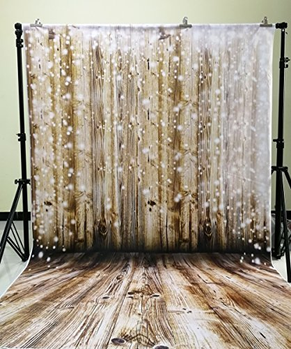5x7ft Photo Backdrop Newborn Photography Backgrounds Wooden Wall
