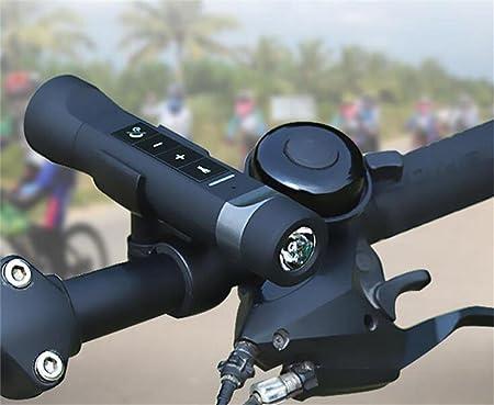 Linterna Linterna de m/úsica Multifuncional HONGY Radio FM port/átil Banco de energ/ía para Ciclismo al Aire Libre Altavoz Bluetooth 4 en 1