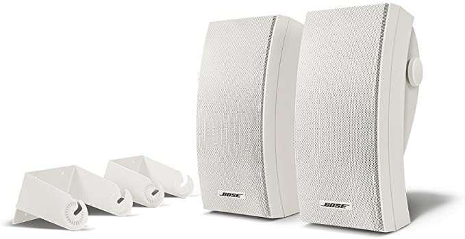 SE White Bose 151 Pr R Outdoor Speakers