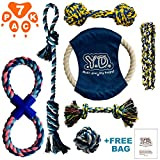 Cheap Dog Rope Toys for Aggressive Chewers – Indestructible Dog Toy Set of 7 – Durable Dog Chew Toys for Small to Large Breeds Dogs and Puppies – Rope Dog Toys for Training Tug-of-War Playing