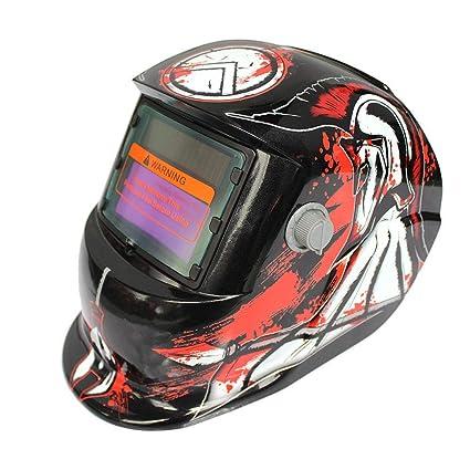 4//9-13 Solar Automatic Darkening Welding Helmet Face Shield Dinosaur